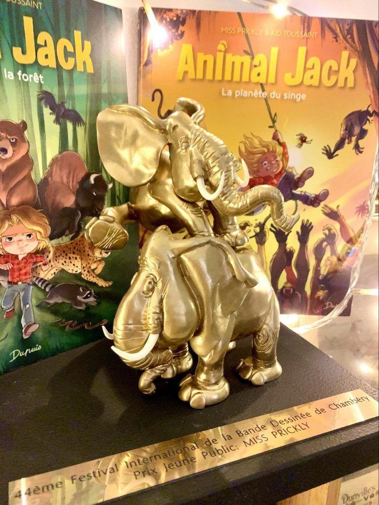 L'Éléphant d'Or pour « Animal Jack »